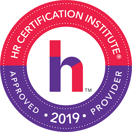 HRCI 2019 Approved Provider logo