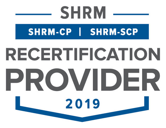 SHRM Recertification Provider 2019 logo